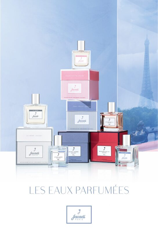 Jacadi Paris scented waters for babies and toddlers